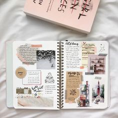 Another way to decorate a daily planner, diary or scrapbook . - Another way to decorate a daily planner, diary, or scrapbook, - Bullet Journal Notes, Bullet Journal Aesthetic, Bullet Journal 2019, Bullet Journal Ideas Pages, Bullet Journal Spread, Bullet Journal Layout, My Journal, Journal Pages, Planner Journal