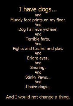 Luckily my dogs don't really fart too bad and their paws smell like Fritos! Not stink. Haha.