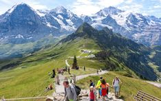 Our favorite family activities in the Jungfrau region, including hikes suitable for kids and strollers and alpine playgrounds with big views. Switzerland Summer, Switzerland Vacation, Visit Switzerland, Wilhelm Tell, Swiss Travel, Cheap Places To Travel, Best Flights, European Vacation, Mountain Resort