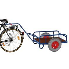 GTARDO.DE:  Fahrradanhänger, Tragkraft 400 kg, Ladefläche 1130x535 mm, Maße 2230x840 mm, Rad-Ø 400x100 mm 294,00 €