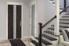 db-a02m Aurora fiberglass doors are made to look and feel like solid wood, without any of the maintenance. Craftsman style door shown is displayed with two full glass sidelights, and decorative glass.