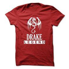 Dragon - DRAKE Legend TM003 - #slouchy tee #grey hoodie. CHECKOUT => https://www.sunfrog.com/Names/Dragon--DRAKE-Legend-TM003.html?68278
