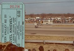 Evel Knievel, Green Valley, 1984