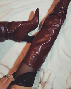#boots #darkred #zara #shoeslover #heels #bigheels #fashion