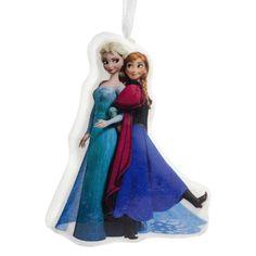 Disney Frozen Anna and Elsa Hallmark Christmas Tree Ornament