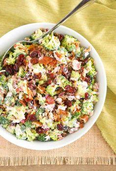 Broccoli Salad -- part of The Best Picnic and Potluck Recipes