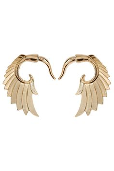 Wing and a Prayer Tunnel Earrings