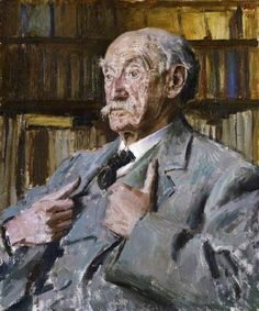 Portrait of Thomas Hardy (1840–1928), 1923 by Augustus John (British 1878–1961)
