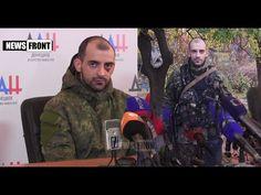 """[eng subs] Captive """"Azov"""" regiment trooper press conference Donetsk 19/0..."""