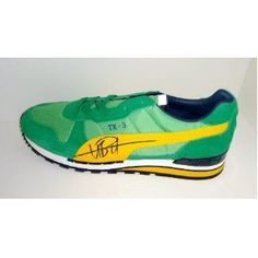 Usain Bolt Hand Signed Autographed Puma Sneaker Shoe