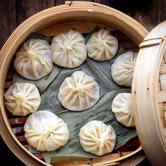 Xiao Long Bao—Chinese Soup Dumpling Recipe on Yummly. Cooking Wine, Asian Cooking, I Love Food, Good Food, Yummy Food, Asia Food, Dumpling Recipe, Egg Dumplings, Vegetable Dumplings