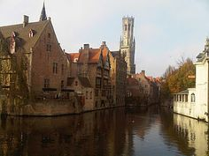 Brugge, Belgium--one of the most beautiful places I've been. Old world feel, delicious chocolates, and horse drawn carriages made it a favorite Great Places, Places Ive Been, Beautiful Places, Brugges Belgium, Horse Drawn, Work Travel, Bruges, European Travel, Old World
