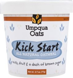 I'm learning all about Umpqua Kick Start All Natural Oatmeal at @Influenster!