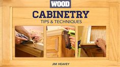 Learn Cabinet Construction in: Cabinetry Tips & Techniques - Learn cabinetry essentials & gain the skills to tackle your own build in this FREE mini-class, brought to you in partnership with WOOD® magazine! - via @Craftsy