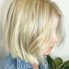 || BLUNT BOB +BLONDE✔️|| Colour and styling done by our Senior Colourist @zoebodahaircutters