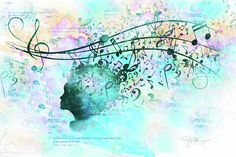 Music Digital Art - 10846 Melodic Dreams by Pamela Williams
