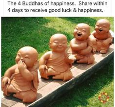 Mhmm ^_^ (And how cute are these little Buddha statues? Little Buddha, Baby Buddha, A Course In Miracles, Thinking Day, Dalai Lama, What You Think, Just In Case, Me Quotes, Happy Quotes