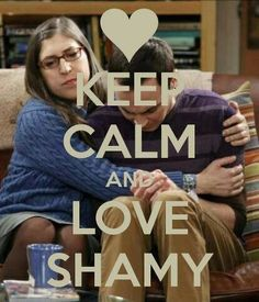 Shamy. Sheldon Cooper. Amy Ferrah Fowler. Jim Parsons. The Bang Theory.