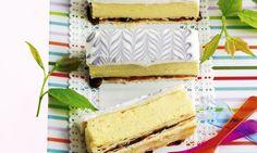 Zwetschgen-Crèmeschnitten: Blätterteig ca. 35×35 cm gross auswallen und auf das… Vanilla Cake, Sandwiches, Bread, Desserts, Organic Matter, Food, Tips, Kitchens, Recipes