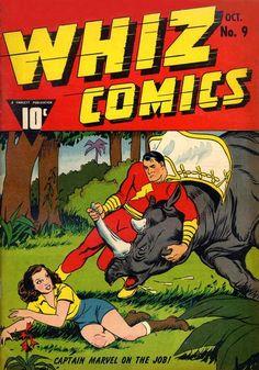 Whiz Comics #9