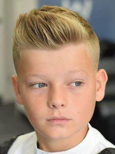 Stylish and Trendy Boys Haircuts 2019 - Men Girls Haircuts Medium, Trendy Boys Haircuts, Cool Hairstyles For Boys, Little Boy Haircuts, Popular Haircuts, Boy Hairstyles, Cool Haircuts, Haircuts For Men, Young Boy Haircuts