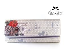 Chicamote clutch bag - WildFlow (front)