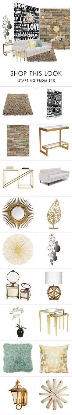 """""""Untitled #1405"""" by lindagama ❤ liked on Polyvore featuring interior, interiors, interior design, home, home decor, interior decorating, Maxwell Dickson, Arteriors, Tisch New York and Himalayan Trading Post"""