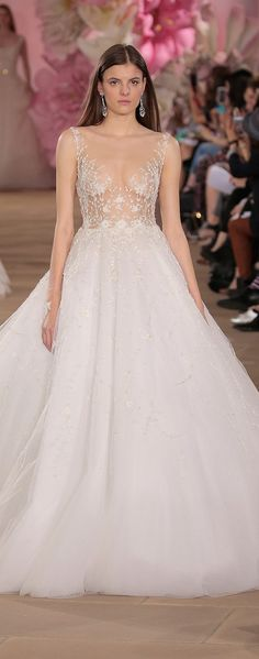 """""""Ines Di Santo Bridal Collection Spring 2017 - Runway"""" - Belle The Magazine"""