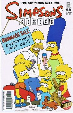 lisa simpson comics Bart