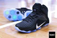 07a1ce3ed3d2c ... closeout nike lebron 12 ext rubber city black chrome nike boots nike  kicks 4884b d713e