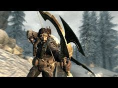 Skyrim: Dragonborn - The most powerful bow! - YouTube