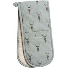 BuySophie Allport Stag Double Oven Glove, Multi Online at johnlewis.com