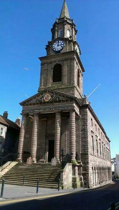 Town Hall Berwick Upon Tweed