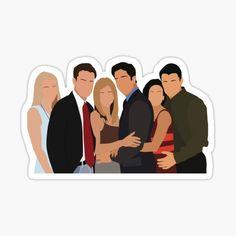 Tv: Friends, Chandler Friends, Friends Scenes, Friends Moments, Cards For Friends, Cute Canvas, Small Canvas Art, Joey Tribbiani, Ross Y Rachel