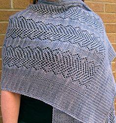 Ravelry: Thistle Lace Wrap pattern by Linda Lehman
