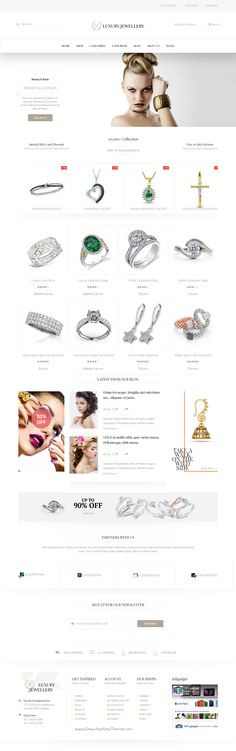 Luxury is based on luxury life style 6 in 1 WordPress Theme for multipurpose #Jewelry #eCommerce #website. Download Now!