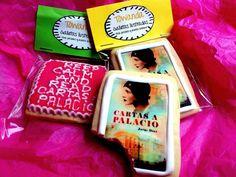 Estas galletas decoradas Towanda irán a la presentación de Cartas a Palacio de Jorge Díaz.