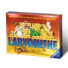 Le jeu de société du Labyrinthe, où le plateau bouge.