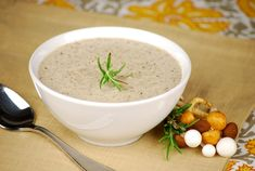 Tasty Trials: Wine and Creamy Roasted Mushroom Soup