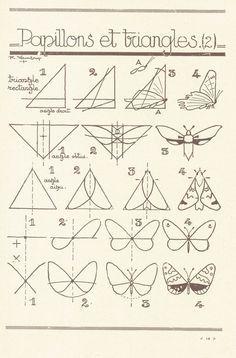 Guias para aprender a dibujar animales *mariposas