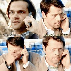"""Do you ever wonder if Cas thinks, """"What in all that's Holy have I signed up for?"""""""