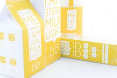 Daily Dairy (Student Work) on Packaging of the World - Creative Package Design Gallery
