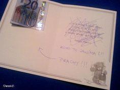 Originálně zabalené peníze jako dárek - Album uživatelky majisska | Beremese.cz Notebook, Gifts, Gift Ideas, Humor, Presents, Humour, Funny Photos, Favors, Funny Humor