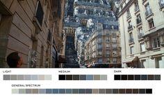 33 Famous Movie Stills Broken Down Into 7-Color Palettes