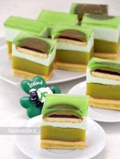 Ciasto Shrek. Kolorowy przysmak - idealny na Dzień Dziecka! #intermarche #dziendziecka