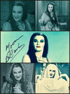 Lily Munster Yvonne De Carlo Autograph