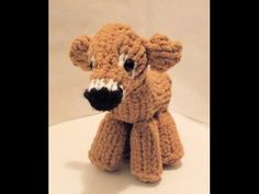 How To Loom Knit a Mini Cow, My Crafts and DIY Projects