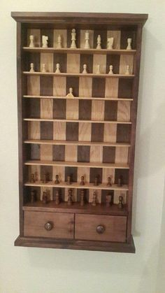 Post with 16297 views. My dad made me a Vertical Chess Board for my Bday Into The Woods, Fun Projects, Wood Projects, Wood Games, Creation Deco, Diy Games, Chess Pieces, Diy Furniture Plans, Wood Toys