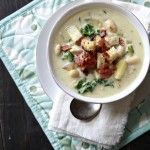 Rosemary Chicken Chowder with White Beans   Chowder Recipe   Good Life Eats