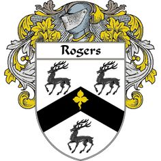 Rogers Coat of Arms   namegameshop.com has a wide variety of products with your surname with your coat of arms/family crest, flags and national symbols from England, Ireland, Scotland and Wale